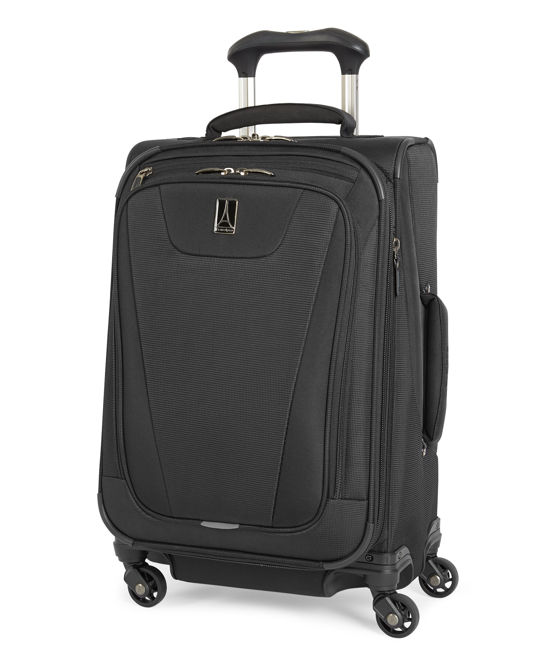 Travelpro Maxlite 4 Expandable 21 Inch Spinner Suitcase, Black by Travelpro