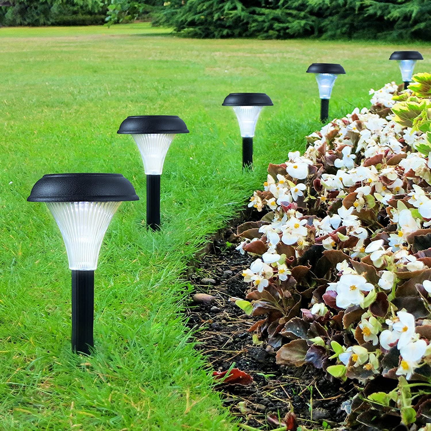 Top 15 Best Solar Path Lights In 2018 Reviews And Picks Sunny Light Gardensolar Yard Powered Lighting Garden Bliss 10 Pack Of Outdoor