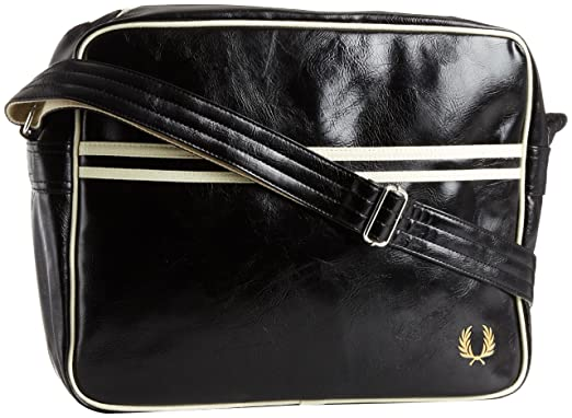 Sacoche Fred Perry Classic Side Bag noire HQXYs8