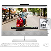 HP 27 Pavilion All-in-One PC, 10th Gen Intel i7-10700T Processor, 16 GB RAM, Dual Storage 512 GB SSD and 1TB HDD, Full…