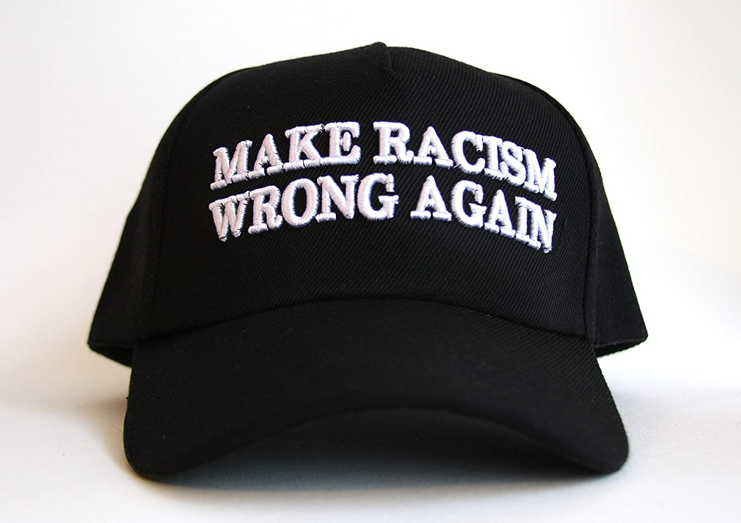 Amazon.com  TAS Apparel Make Racism Wrong Again Hat  Sports   Outdoors e3f09f21b08a