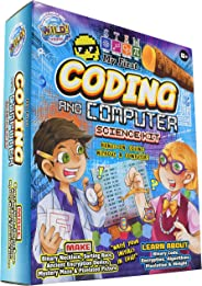 WILD! Science My First Coding and Computer Science Kit - Ages 6+ - Teach Kid-Friendly Coding, Encryption, Pixelation, Algorit