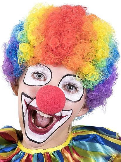 kangaroo halloween accessories clown rainbow wig