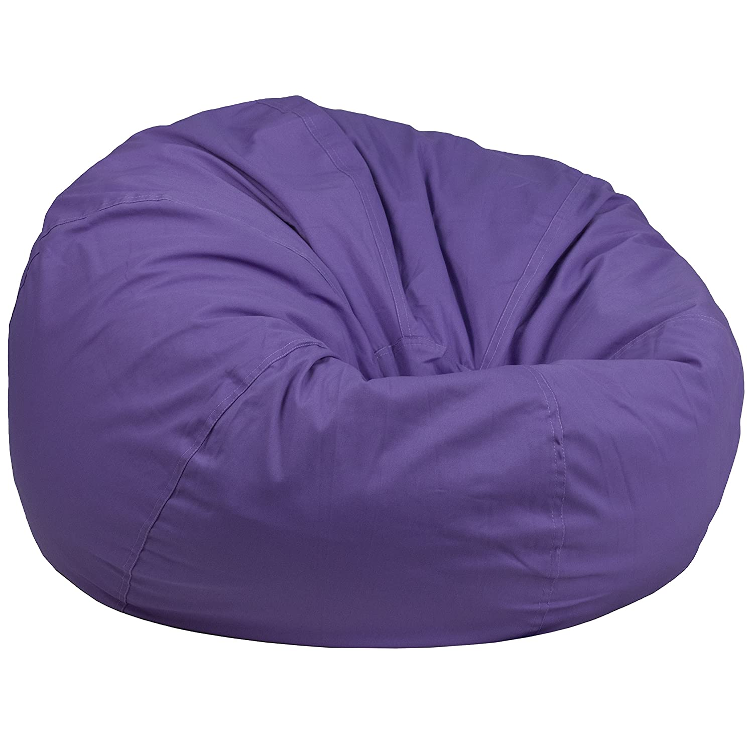 Amazon Flash Furniture Oversized Lavender Dot Bean Bag Chair Kitchen Dining