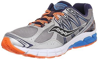 Saucony Men's Lancer 2 Running Shoe,Silver/Navy/Orange,7 ...