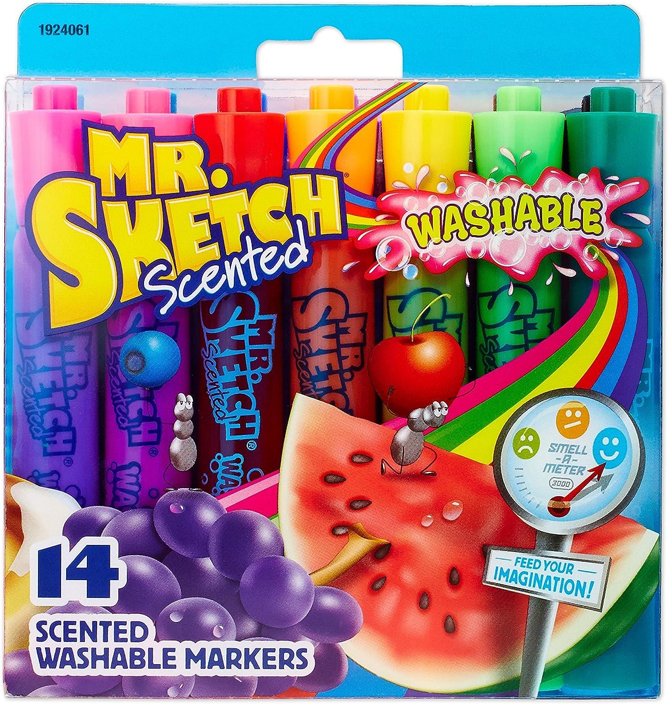 Mr.Sketch Scented Washable Marker Set 14//Pkg-Chisel