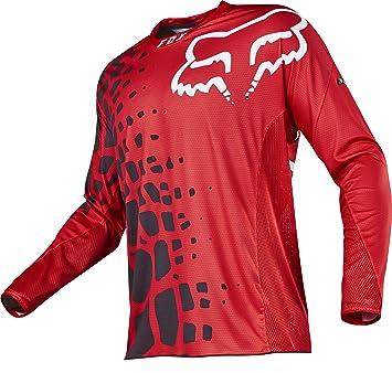 Fox 360 Jersey Grav Red Size M