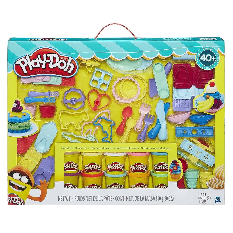 Play-Doh Delightful Desserts Set 40 Piece Set B6379