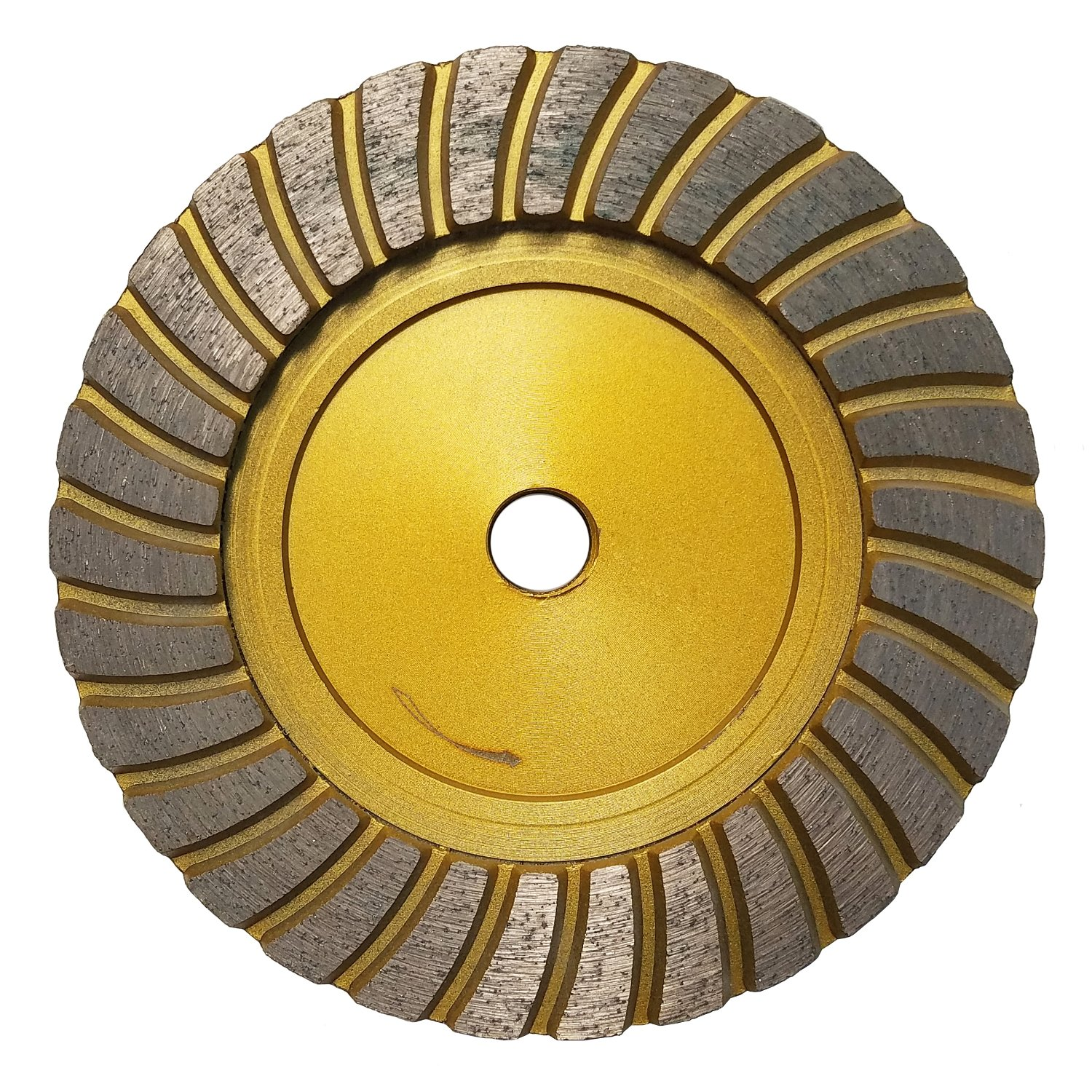 Concord Blades GCT060FFHP 6 Inch Fine Grit Turbo Cup Wheel for Granite and Marble