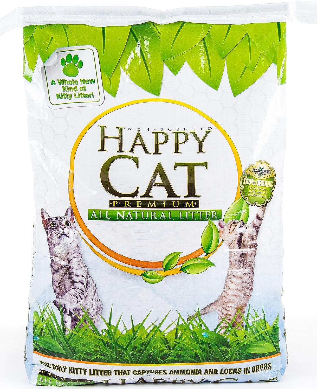 Pure Nature Pets Happy Cat Kitty Litter, 25-Pound