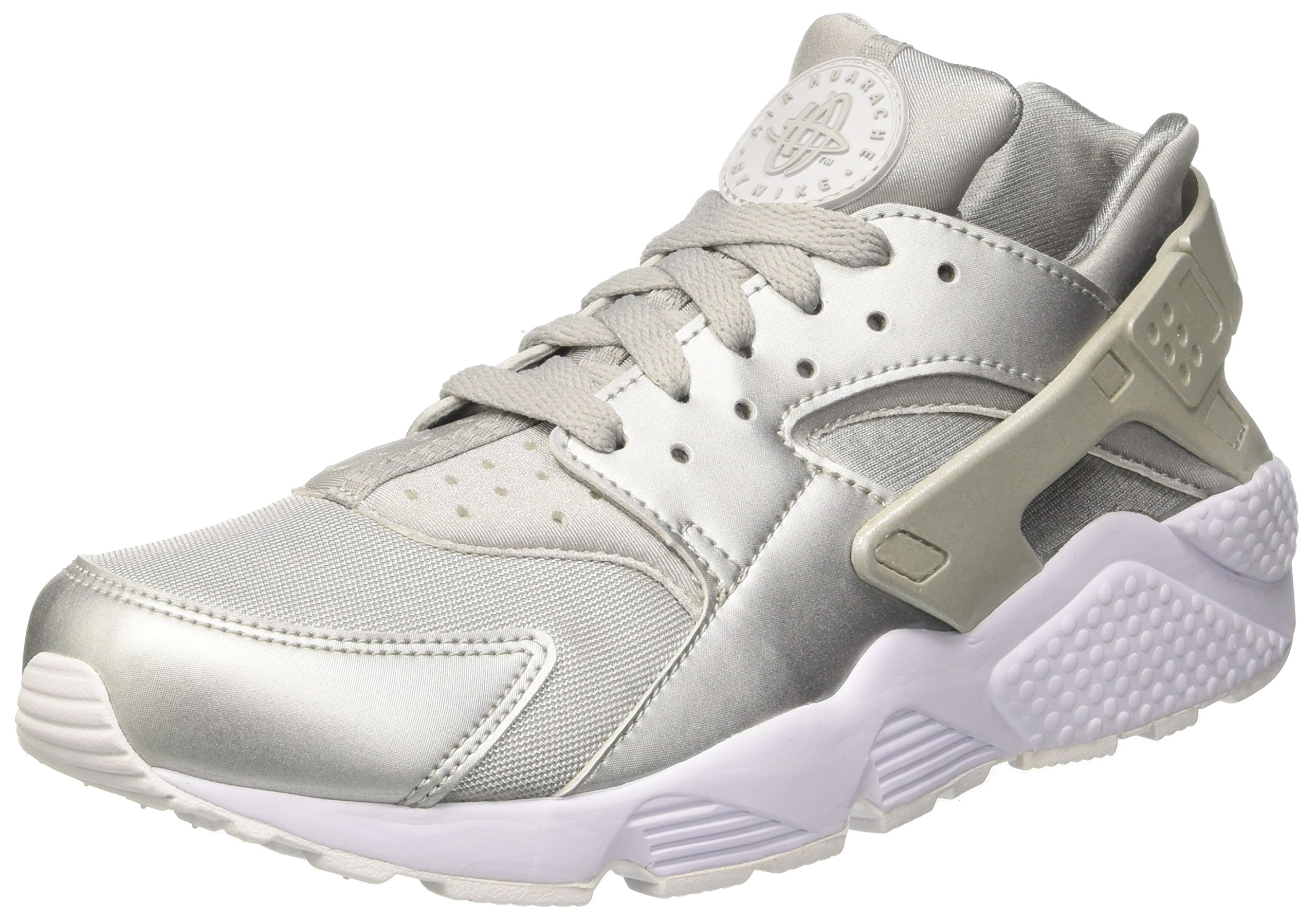 6362ad0d63362 Nike Mens Air Huarache Metalic Silver Nylon Size 11