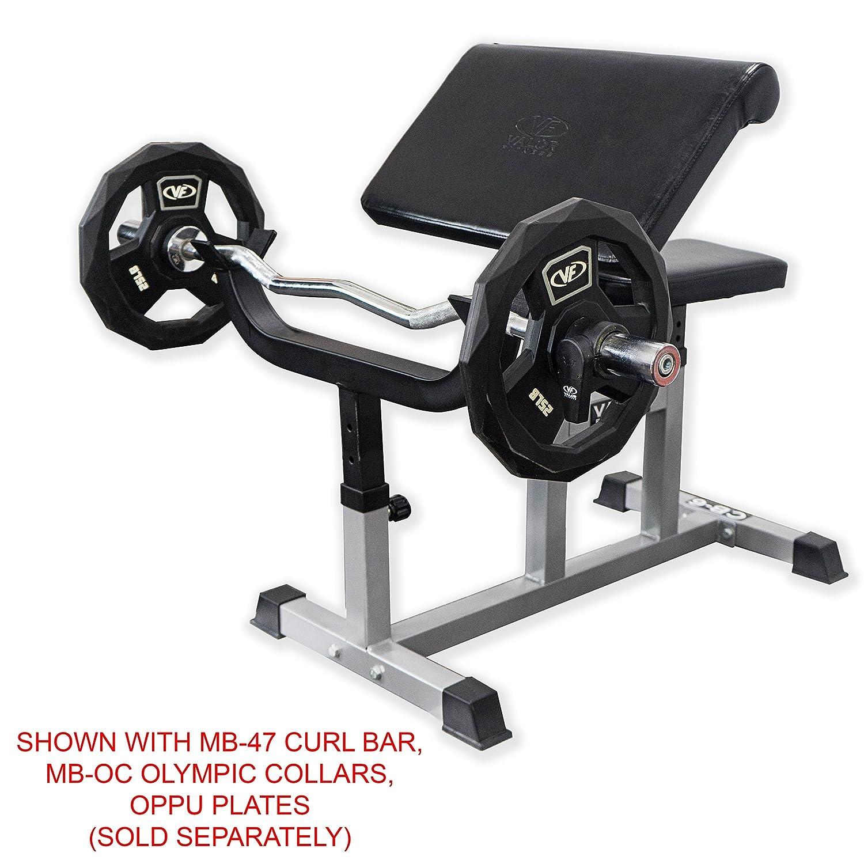 Valor Fitness CB-6 Ajustable Brazo Curl Banco: Amazon.es: Deportes y aire libre