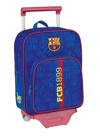 F.C. Barcelona - Mochila infantil con ruedas (Safta 6 11272 020): Amazon.es: Juguetes y juegos