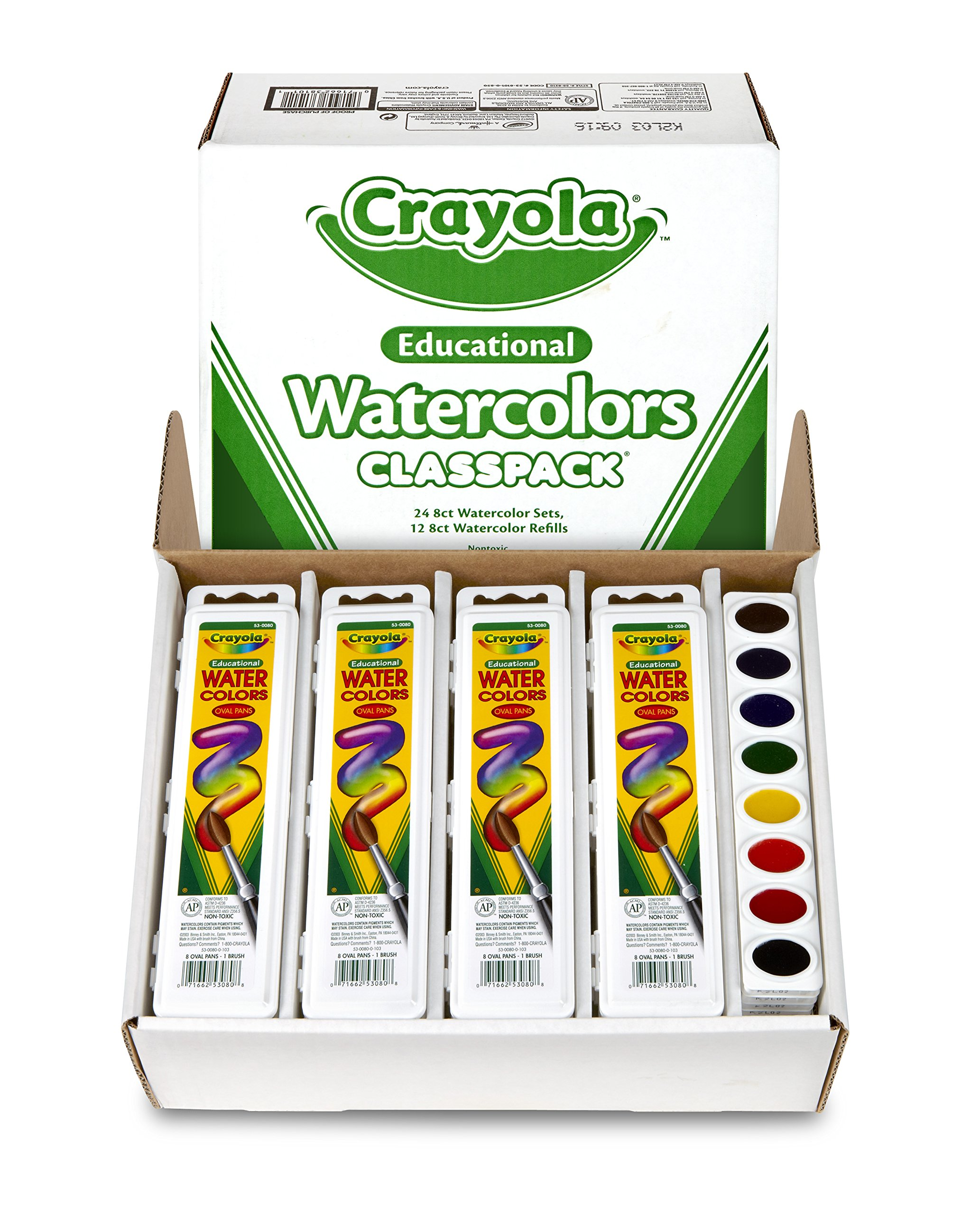 Crayola Educational Watercolors Classpack by Crayola (Image #4)