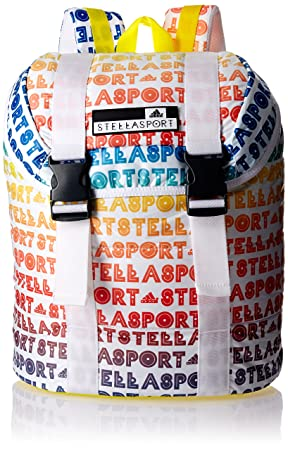 701eb4f7ef6e9 adidas Stellasport Flap AOP Backpack - Multi-Colour  Amazon.co.uk ...