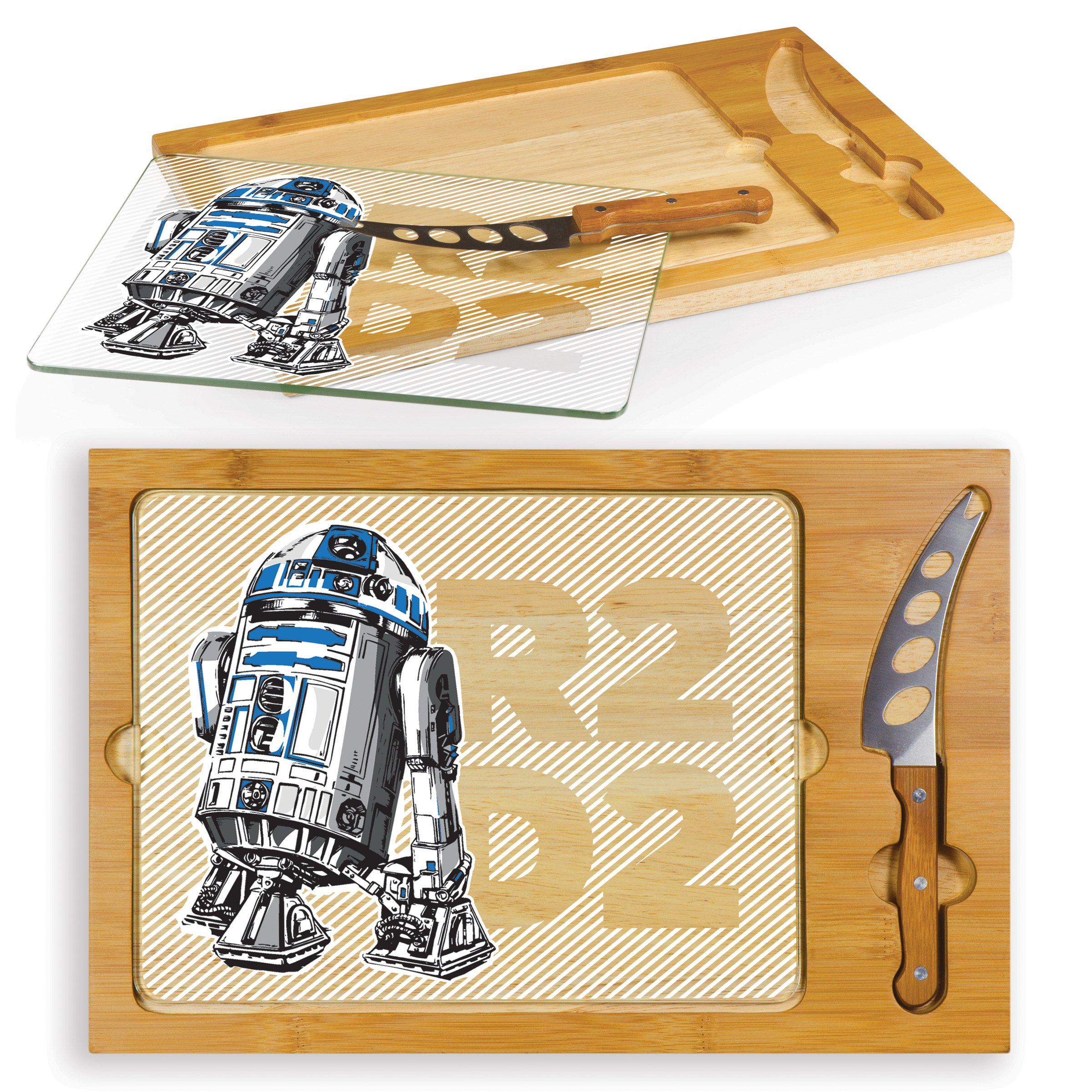 Lucas/Star Wars R2-D2 Icon 3-Piece Cheese Serving Set by PICNIC TIME (Image #2)