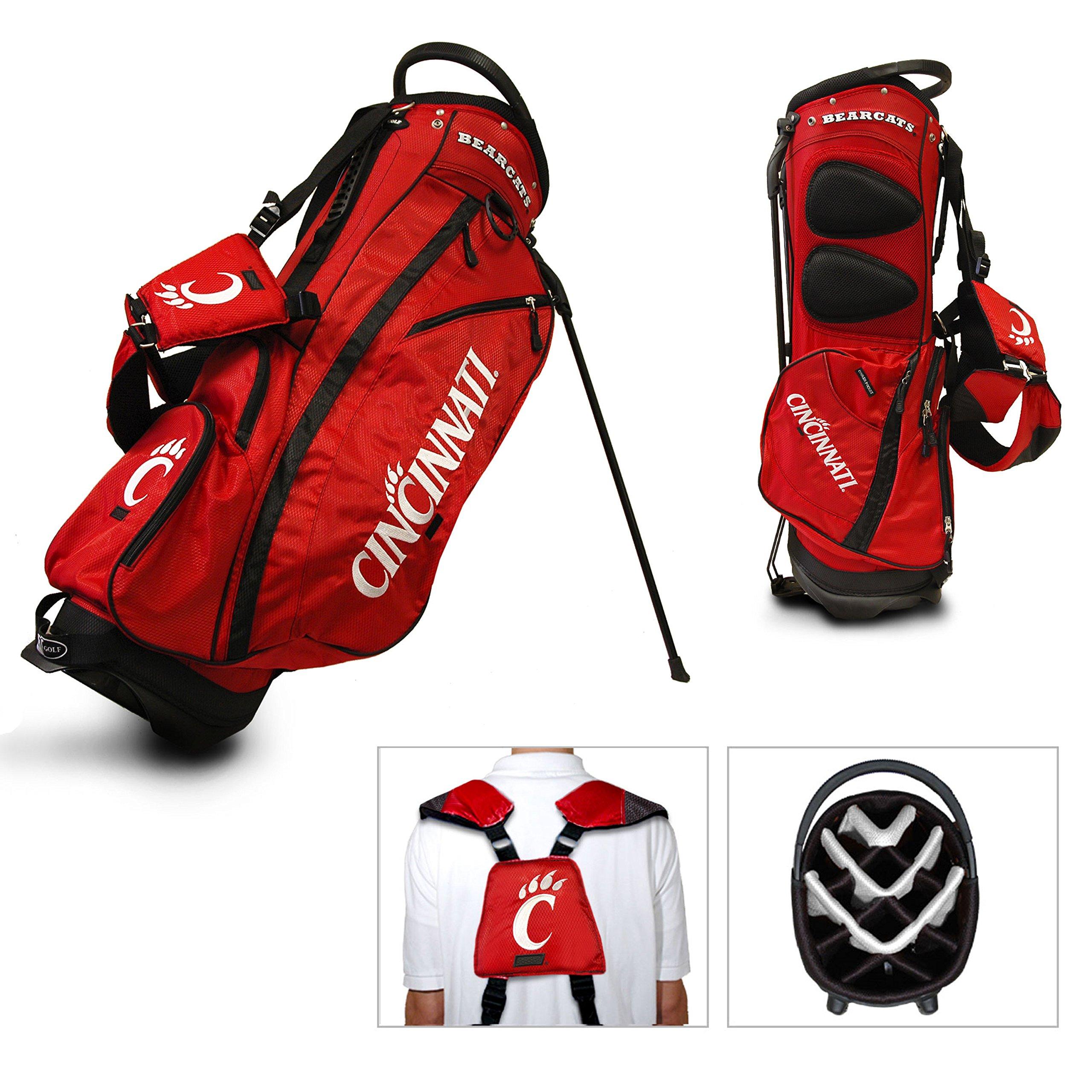 Cincinnati Bearcats Team Golf Fairway Lightweight 14-Way Top Golf Club Stand Bag