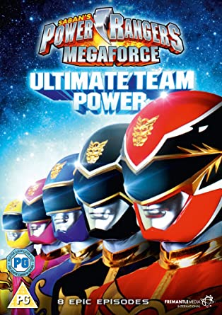 Power Rangers Megaforce - Volume 1: Ultimate Team Power DVD Reino Unido: Amazon.es: Cine y Series TV