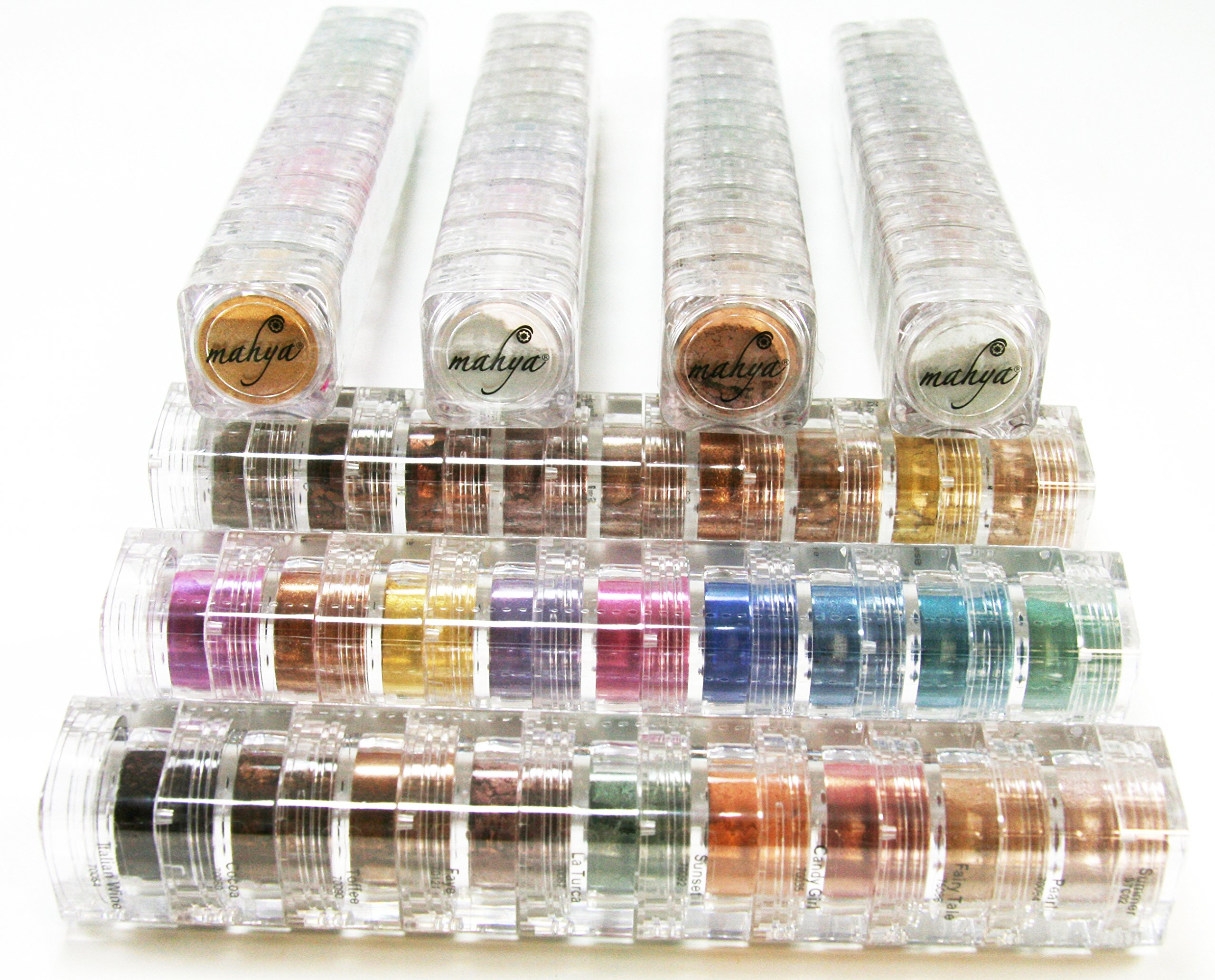 Mahya Mineral Eye Shadow 9 stack - Spring