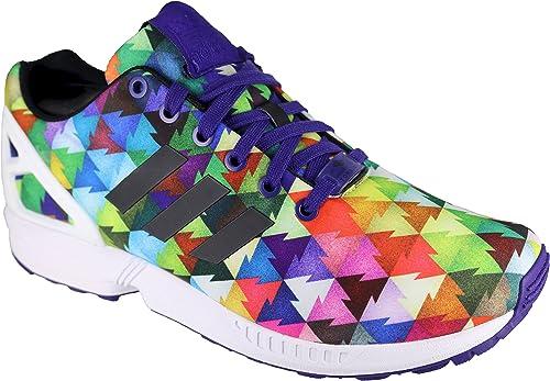 | adidas Women's ZX Flux Geometric Running Shoes