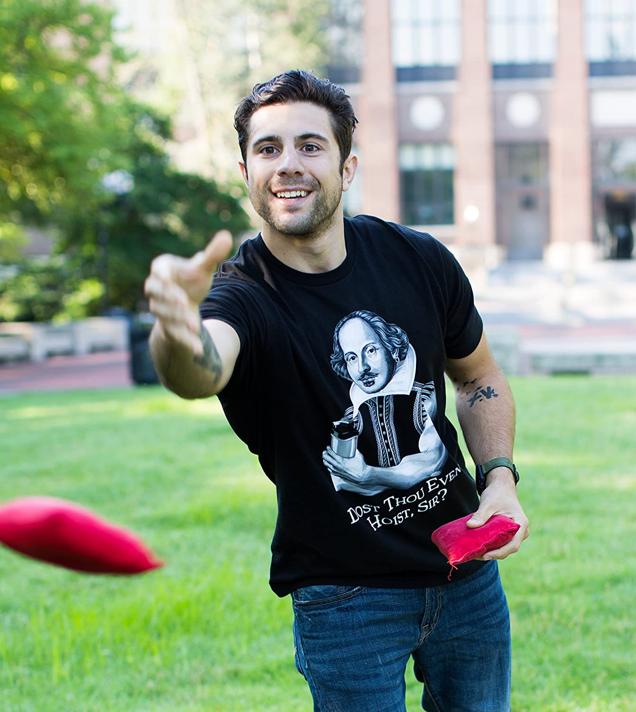 (¿Vuestra Merced Puede Levantar Pesas? - Humor para el Gimnasio - Shakespeare cachas - Camiseta para Hombre -: Amazon.es: Ropa y accesorios