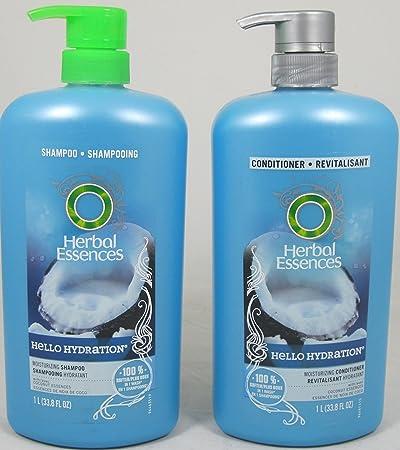 Herbal Essences Hello Hydration Moisturizing Shampoo & Conditioner Duo, (33.8 Fl. Oz. Each)