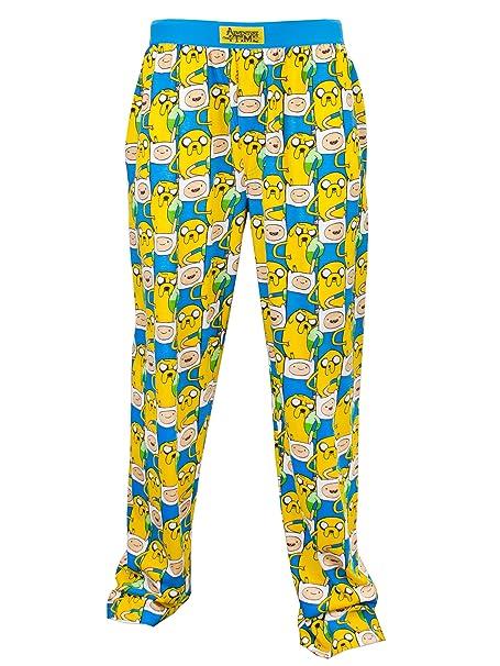 Adventure Time - pantalones del pijama para Hombre - Hora de Aventuras - Small