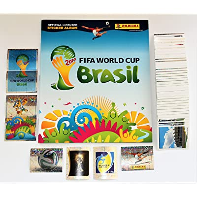 Panini FIFA Coupe du Monde 2014 Brasile -Set of all 640 stickers + empty album