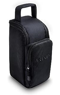 RIVA ARENA TRAVEL BAG - Bolsa de transporte acolchada negra