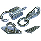Tom's Fidgets Hammock Chair Ultimate Hanging Kit - Stainless Steel 500 LB Capacity Hammock Spring, Swivel Hook, and Ceiling H