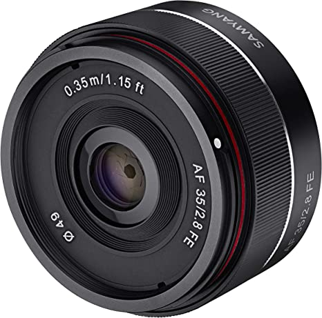 Samyang SA7021 - Objetivo para cámaras Digitales sin Espejo Sony E ...