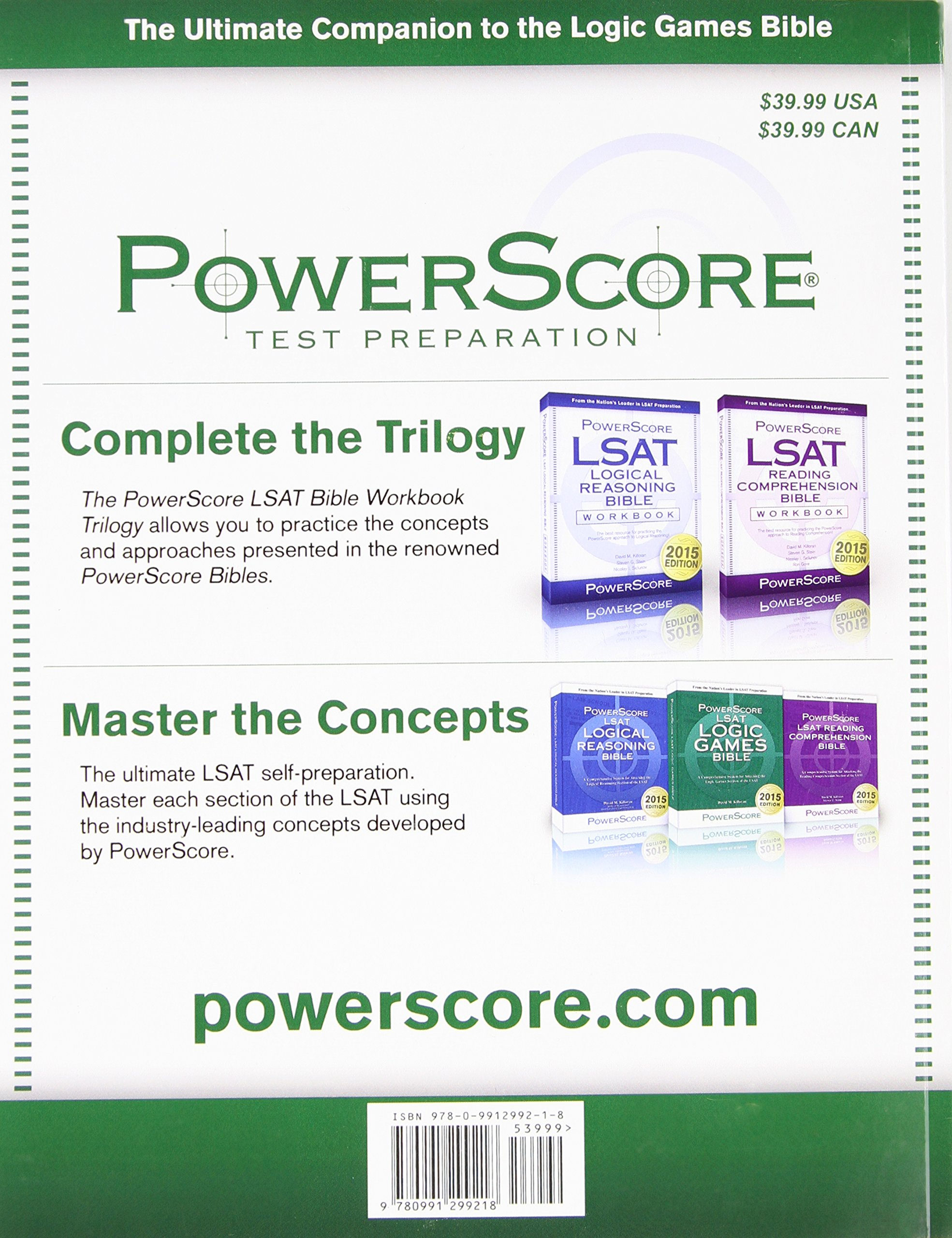 Buy The Powerscore LSAT Logic Games Bible Book Online at Low Prices in  India | The Powerscore LSAT Logic Games Bible Reviews & Ratings - Amazon.in