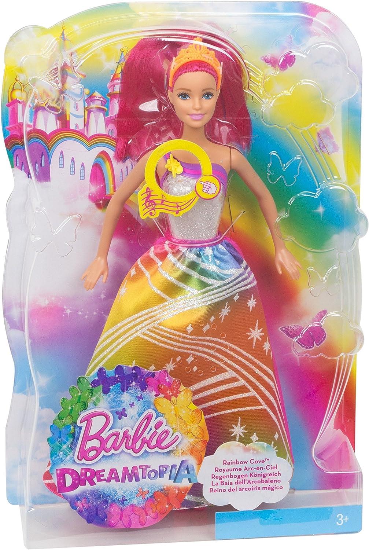 Barbie DPP90 Barbie Principessa Arcobaleno Magico, DPP90