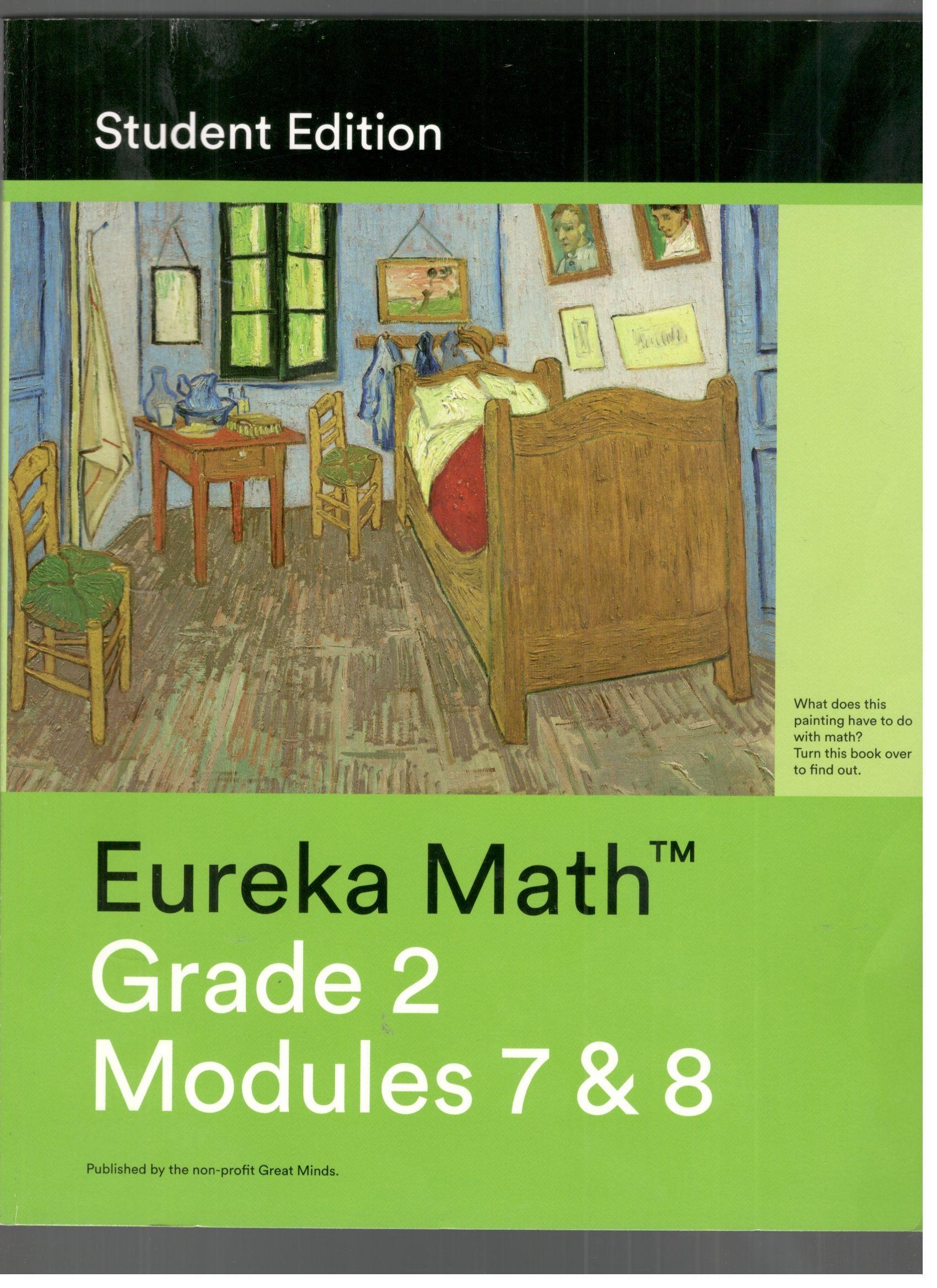Eureka Math Grade 2 modules 7 and 8 (Student Edition): Great