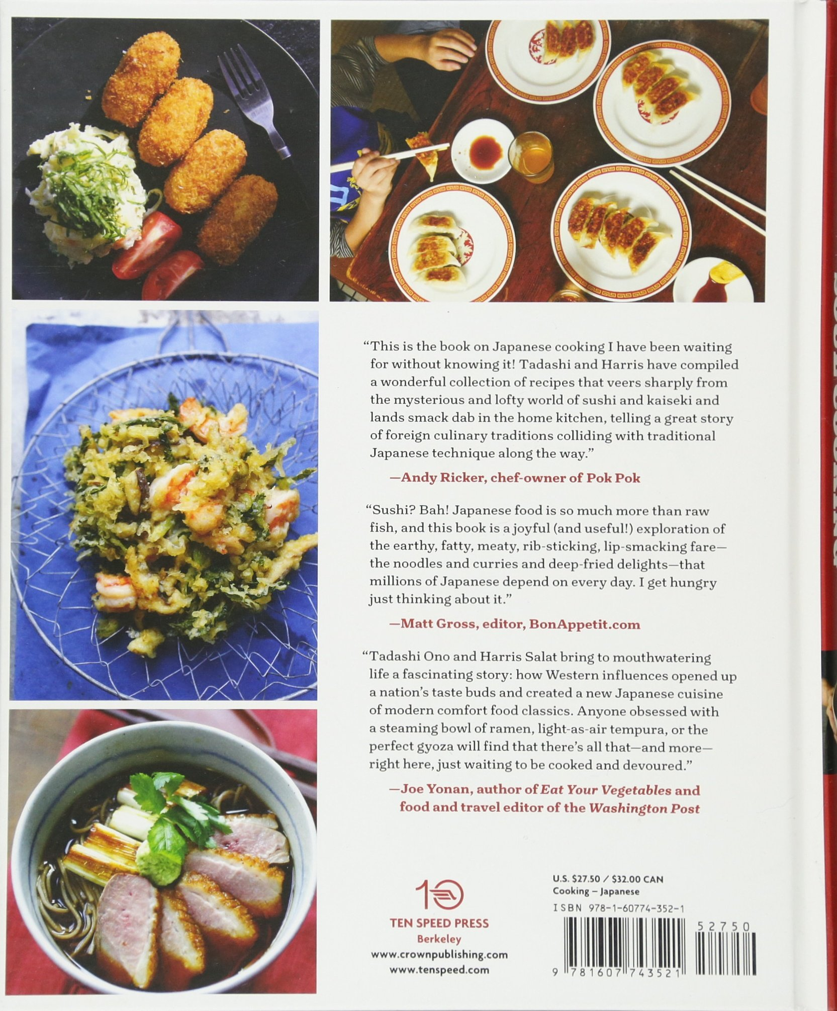 Japanese Soul Cooking: Ramen, Tonkatsu, Tempura, and More from the ...