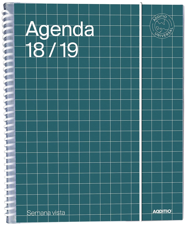 Additio A142-SV - Agenda Universal semana vista 2018-19 ...