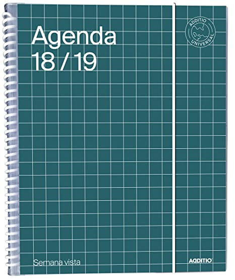 Amazon.com : additio a142-sv - Agenda Universal 2018 - 19 ...