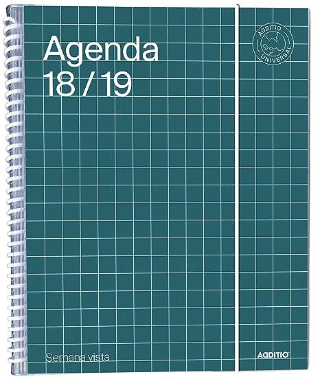 Amazon.com : additio a142-sv - Agenda Universal 2018 - 19 ...
