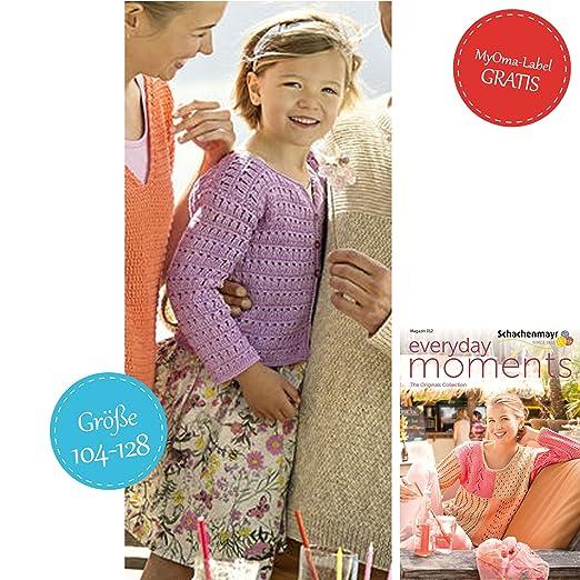 Set Zum Häkeln Kinderjacke Lila Jacke Für Mädchen Häkeln