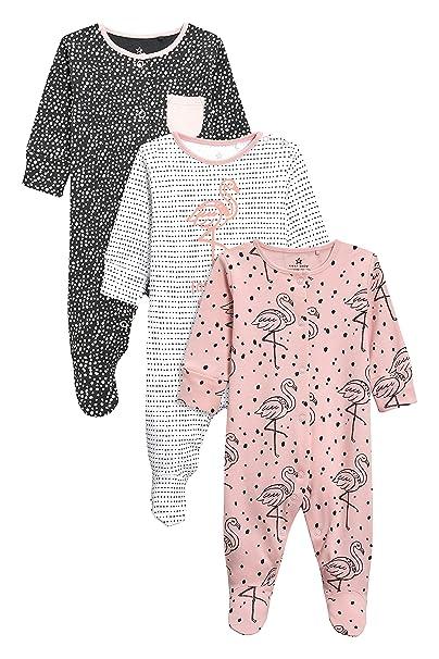 next Bebé-Niñas Pack De Tres Pijamas Estampado De Flamenco (0 Meses - 2 Años) Rosa/Blanco 1.5-2 años: Amazon.es: Ropa y accesorios