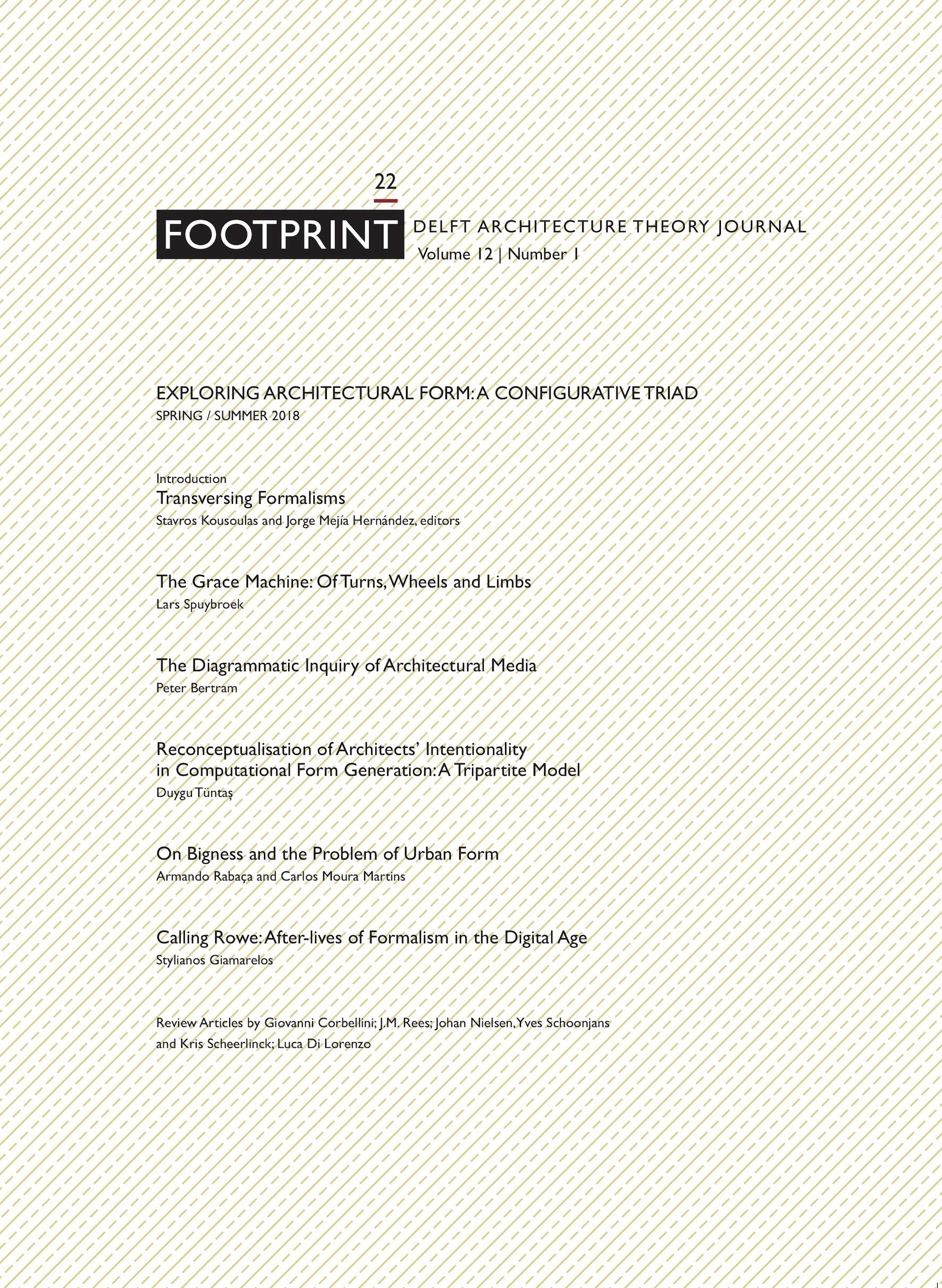 Buy Footprint 22 - Exploring Architectural Form: A