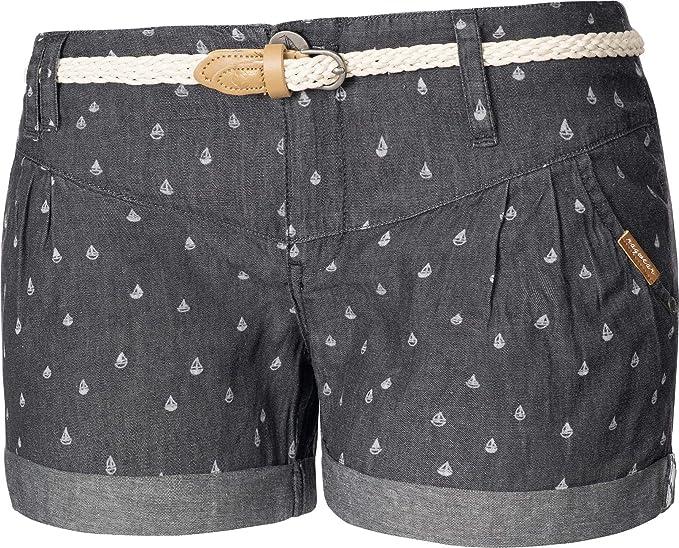 Ragwear Damen Kurze Hose Bermuda Chino Shorts Sommerhose Ramira 4 Farben 26-31