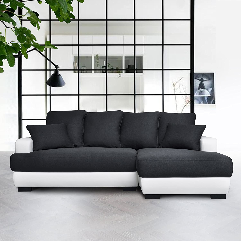 Fanilife - Sofá cama en forma de L y almacenamiento, sofá de ...