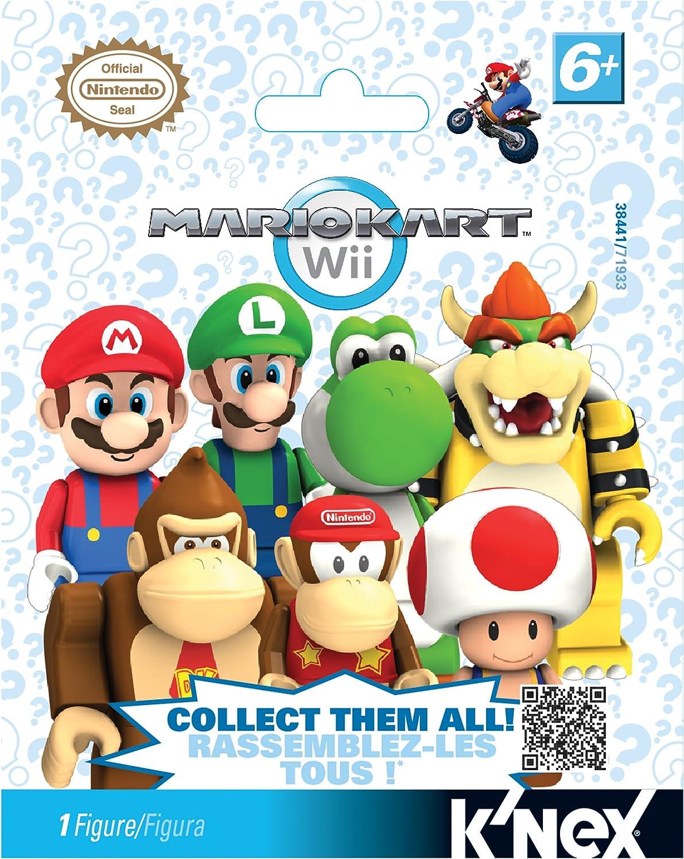 Amazon Com K Nex Nintendo Mario Kart Wii Mystery Bags Toys Games