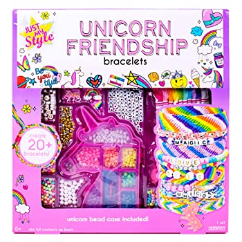 Just My Style Unicorn Friendship Bracelets Craft Kit
