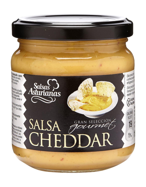 Salsas Asturianas Salsa Cheddar - 190 gr: Amazon.es: Alimentación y bebidas