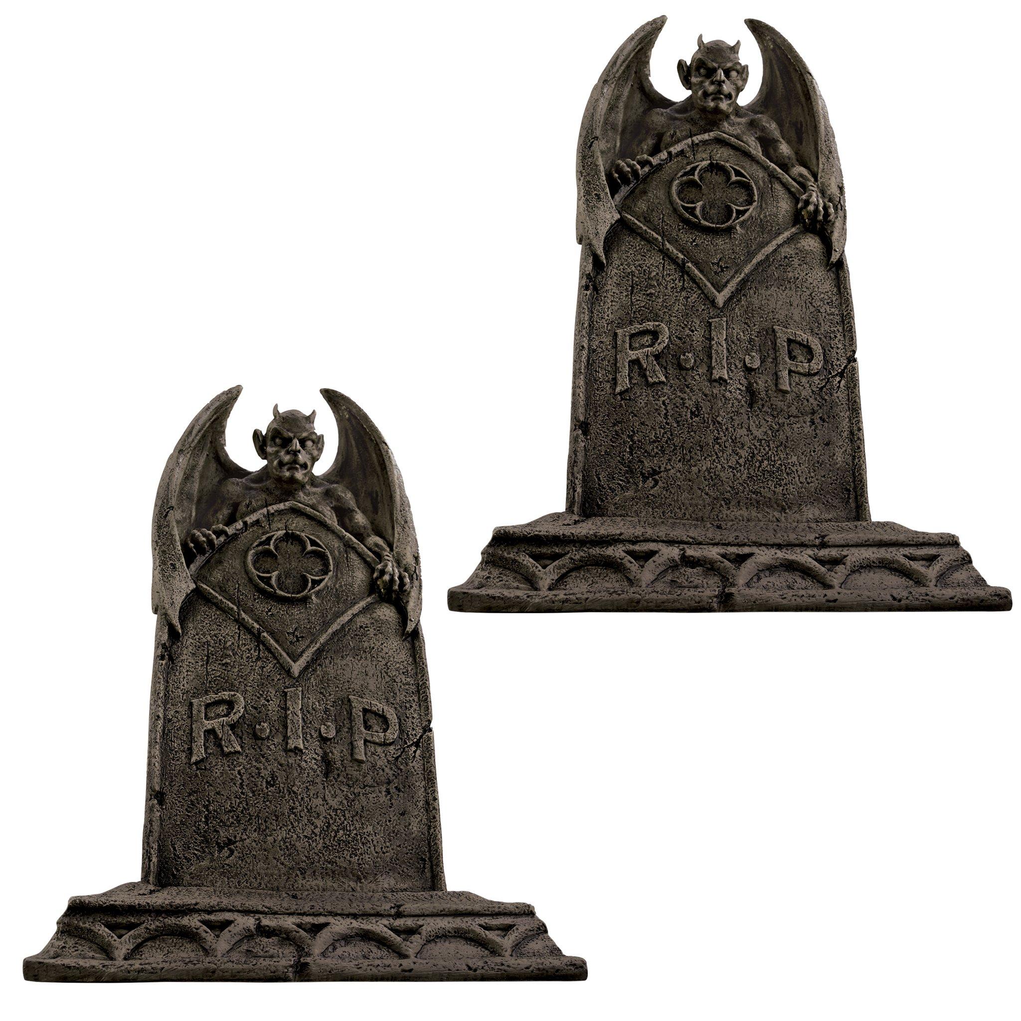 Design Toscano Vampire Demon Tombstones
