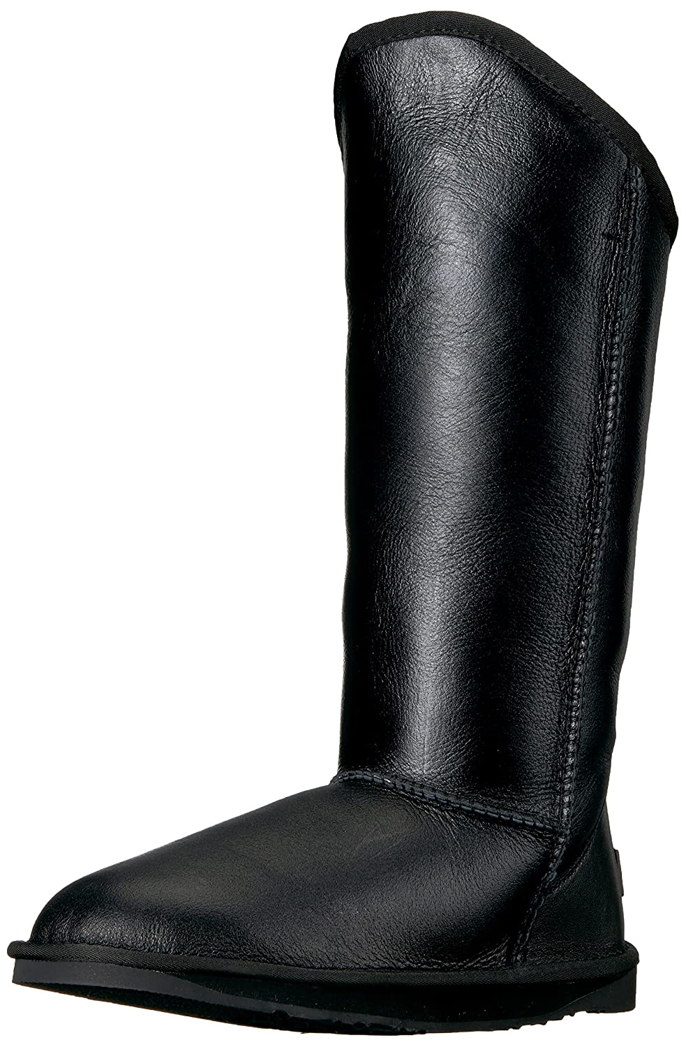 Luxe Co.. Womens Cosy Tall Closed Toe Mid-Calf Fashion Boots B075FV4B5G 6 Standard US Width US|Black