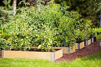 Farmers Fun Hochbeet Rahmen 120x80x19cm Gartenbeet Erweiterbar Auf
