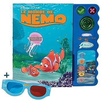 Vtech 58085 Jouet De Premier Age Magi Livre Interactif Nemo Avec Lunettes 3d